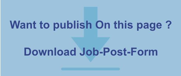 Jobs@MyCityPune  New Jobs - Vacancies Waiting For You in